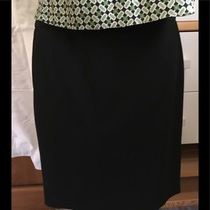The Limited Black Collection Chic Pencil Skirt